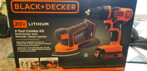 Brand New Never used Black and Decker 2 Tool Combo