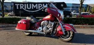 2014 Indian Motorcycle Chieftain Indian Motorcycle Red