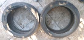 Bridgestone Potenza Tyres 2 x Partworn