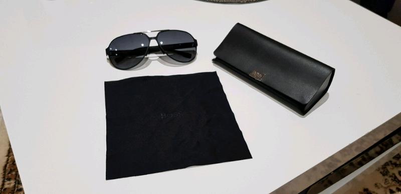 aea7e73215db Black Lens Carbon Fiber Aviator Sunglasses | BOSS 0669S ...