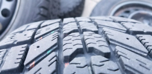 4x100 Winter Tires 185/60/14 80% Tread