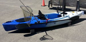 Strider kayak w. seat  and paddle clearance $450 reg. $545