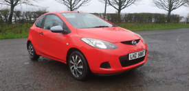 2009 MAZDA 2 TS 1.4 DIESEL ONLY £30 PER YEAR ROAD POSS PART EX