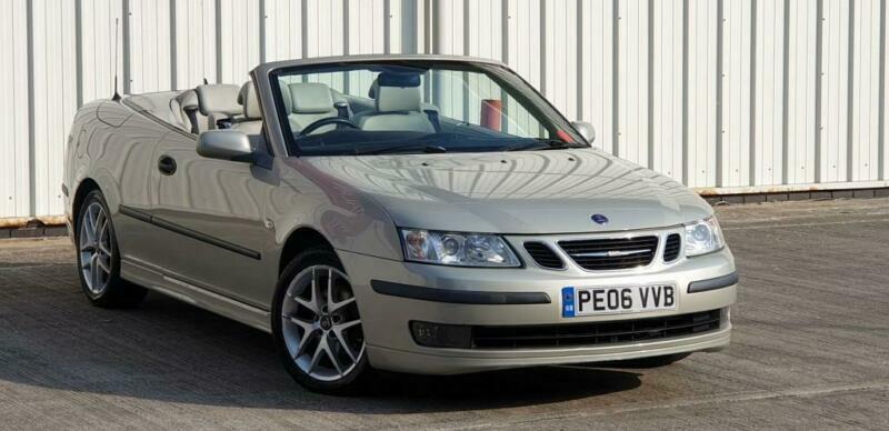 2006 Saab 9-3 2.0 VECTOR T 2DR Convertible Petrol Manual