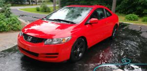 Honda Civic SE 2011 Red