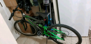 Huffy Rock Creek Dual suspension MB (like-new condition)