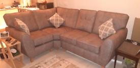 4 Seater Corner Sofa with 3No Matching Cushions