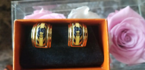 Authentic Hermes Earrings Clip on