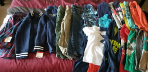Boys size 5 clothing (including 2 new shirts with tags)
