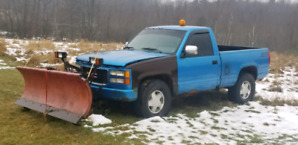 1992 Chevy 1500 plow truck