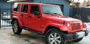 Jeep Wrangler Unlimited !