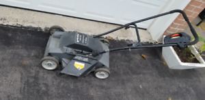 Black and Decker Electric Lawnmower