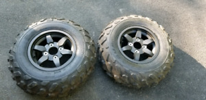 Brute force new tires and 2 new rims  4x110