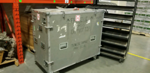 "Hard side Transport case 52"" x 46"" x 26"""