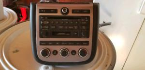 Nissan murano radio