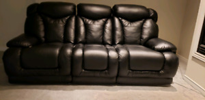 Electric recliners 3+2 leather
