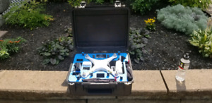 Dji Phantom 3 pro 4k avec case GOPRO ANTI SHOCK