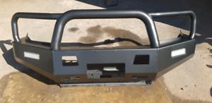 Toyota Hilux Opposite Lock Winch Bullbar