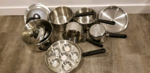 EUC Lagostina Pots and Pans