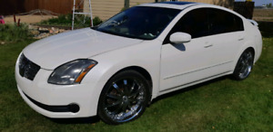 2004 Nissan Maxima trade for a diesel truck!