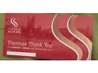 Thermae Bath Spa Voucher