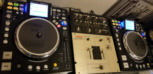 DENON HS5500 (by twoo) and Vestax PMC-07Pro  Mixer