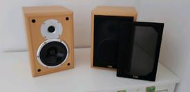 TDL Nucleus 2 bookshelf speakers