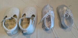 Baby Christening / Baptism shoes / booties - Perfect Condition