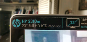 "HP 2310m 23"" Full HD LCD Flat Screen Monitor"