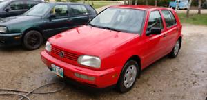 Fresh Safety 1999 Volkswagen Golf 114k