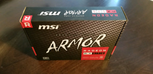 RX570 8GB MSI ARMOR OC $150.00 each