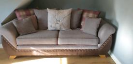 Hunter 3 seater scaterback sofa