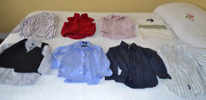 Sweater vests and Oxford style dress and sport shirts