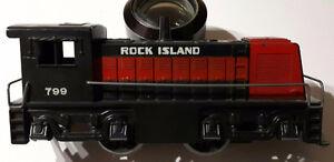 MARX Rock Island Train Streamline Locomotive Railroad Combined