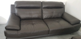 3 x leather sofas, plus 1 x single sofa, pristine condition