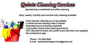 "Lowest insured cleaning, 50% less than ""maid franchises"""