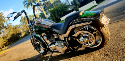 08 Harley Softail custom fxstc. Bagged and full of tricks Kuluin Maroochydore Area Preview