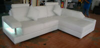 Leather Sectionals-$1888.88 includes GST- HUGE CLEARANCE