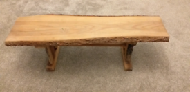 Stunning Rustic wooden hand made bench