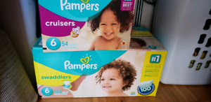Pampers baby diapers size 6