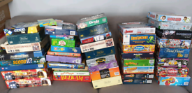 Lots of Board Games, trivial pursuit, buckaroo, connect 4 & loads more