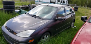 2002 Ford Focus Hatchback