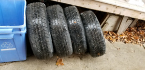 Tires 225 75 R15 $75