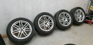Winter bridgestone Blizzak 245/50/18 with wheels