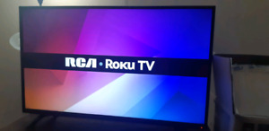 "43"" 1080p LED Smart TV with built in Roku"