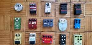Way cool pedals! Mostly drives...