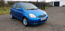 24/7 Trade Sales Ni Trade Prices For The Public 2003 Toyota Yaris 1.0