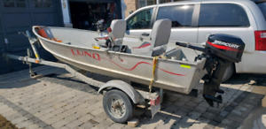 LUND BOAT TRAILER PACKAGE