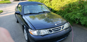 SAAB 93 TURBO CABRIOLET 2001 / 106 000KM ONLY