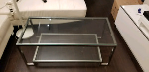 Sleek and Stylish Glass Coffee Table (Delivery Included)
